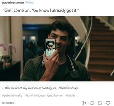 """25 Posts You'll Only Understand If You've Fallen In Love With Peter Kavinsky From """"To All The Boys"""" Romantic Movies, Romantic Couples, Cute Couples, I Still Love You, Man In Love, Boyfriend Goals, Future Boyfriend, Cute Relationship Goals, Cute Relationships"""
