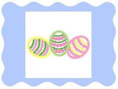 3 Easter Eggs from Zippy Designz