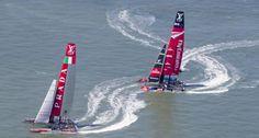 Luna Rossa: quarta e quinta regata delle finali della Louis Vuitton Cup contro Emirates Team New Zealand | BLU