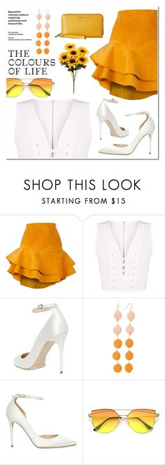 """""""~ 🌺the colours of life🌺 ~"""" by rhiannonjadebrown ❤ liked on Polyvore featuring Siobhan Molloy, Jimmy Choo, Taolei and MICHAEL Michael Kors"""