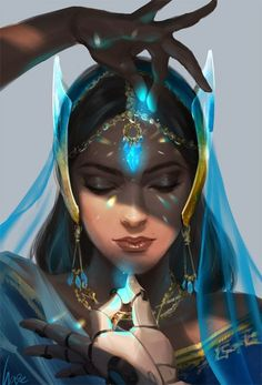 Imagine...a princess Jasmine that wasn't so useless. A magical princess.