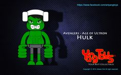 Yang Toys Avengers - Age of Ultron Copyright ⓒ 2014 Jihwan Kim. All rights reserved.