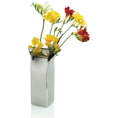 Delightful Interior Design, Beautiful Flower Vase Designs : Fantastic Flower Vase  Designs With Stainless Design, Flower Vase Designs