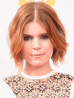 The 8 best beauty looks from the 2014 Emmy Awards: Kate Mara's textured bob was easily our favorite version of the night's biggest hair trend