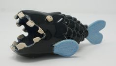 108S006 Ugly fish Being Ugly, Sculptures, Fish, Sculpture, Sculpting, Marbles, Ichthys