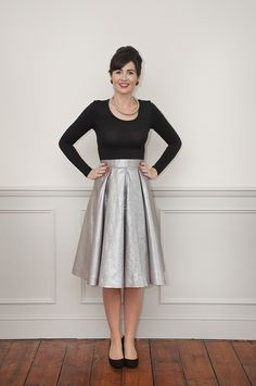 Sew Over It Elsie Dress sewing pattern - with skirt version!