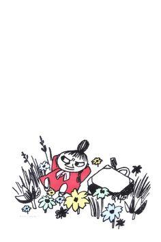 リトルミイ | 完全無料画像検索のプリ画像 Moomin Wallpaper, I Wallpaper, Moomin Tattoo, Little My Moomin, Les Moomins, Moomin Valley, Tove Jansson, Color Lines, Light Art