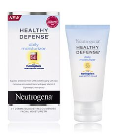 I do not tan at all.(like never -- spray tan) So... I use this moisturizer by Neutrogena with SPF 50 underneath my tinted moisturizer by hourglass.