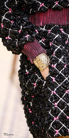 #PFW Chanel Fall 2015 RTW ♔THD♔ detail