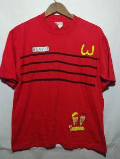Vintage  very RARE 90s Beavis and Butthead MTV t shirt
