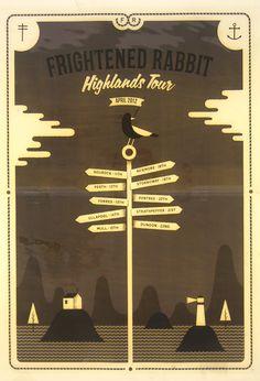 Frightened Rabbit band  Highlands Tour