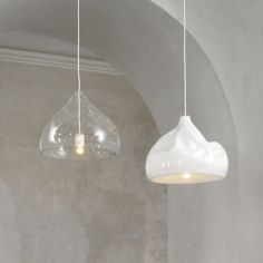 Lasvit's Inhale lamp by Nendo, now at Living Edge.
