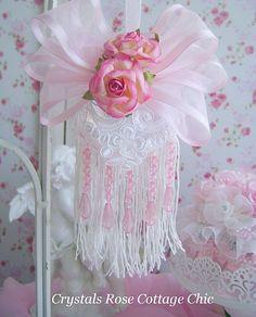 Victorian Rose Cottage | Double Fringe Victorian Romance Ornament