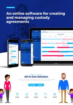 CustodyXChange Online Platform on Behance