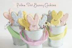 easter bunny cookies by Bee In Our Bonnet