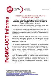 SECCIO SINDICAL UGT SECURITAS CATALUNYA: FeSMC-UGT INFORMA: Comunicado Sección Sindical SIC...