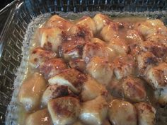 Here is a very easy Cinnamon Roll recipe. It uses only 5 ingredients and can made in less than 30 minutes. I love this site http://chickencasserole....
