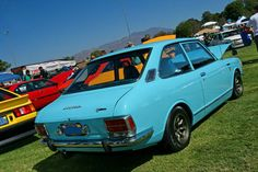 My first car... 1970 Toyota Corolla (actual color too)