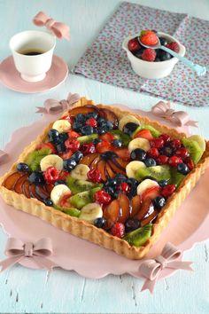 Sprinkles Dress: La crostata di frutta perfetta ( ricetta pasta frolla e crema pasticcera)