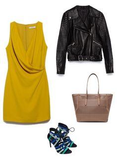 Dress Mango Jacket, bag, shoes Zara  http://personalstylist.pl/