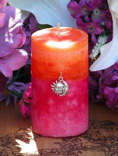 White Magick Alchemy - Summer Sunset Pillar 2x3 . Summer Solstice, Evening Illumination, Love . Grapefruit, Lemon Verbena, Lime, Lily, Creamy Vanilla Sugar, $10.95 (http://www.whitemagickalchemy.com/summer-sunset-pillar-2x3-summer-solstice-evening-illumination-love-grapefruit-lemon-verbena-lime-lily-creamy-vanilla-sugar/)