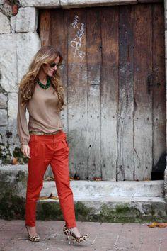 ASM Magazine » Fashion Blog » Orange leopard