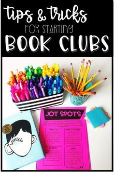 Tips to help you get book clubs started in your classroom. Book clubs can run smoothly with a few easy tips!