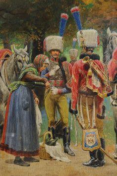 fapoleon-bonerparte:       Lucien Rousselot - Trompette desChasseurs à Cheval de la Garde Impériale (x)