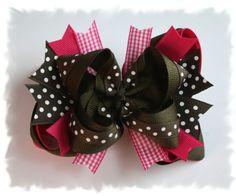Hair bows for little girls
