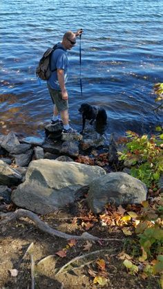 Fall, husband's and dogs...