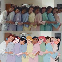 Dua Lipa/New Rules Princesas/Disney Disney Princess Fashion, Disney Princess Drawings, Disney Princess Pictures, Disney Princess Art, Disney Drawings, Princess Meme, Disney Art, Cute Disney, Disney Girls