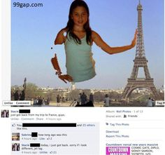 #LOL: Funny #Facebook Post About Paris