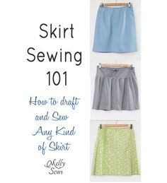 Tutorial: Draft a skirt pattern using your measurements