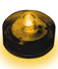 Amber Submersible LED Light - Set of 12 #zulily #zulilyfinds