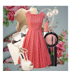 I love the 50's style dresses. I would love to be a housewife that wears a great dress like this everyday!
