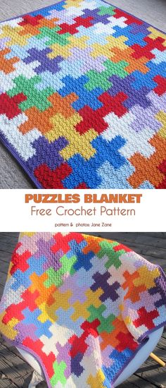 Blanket for Little Builder Free Crochet Patterns Puzzles Blanke. Blanket for Little Builder Free Crochet Patterns Puzzles Blanket Free Crochet Patt Easy Knitting Projects, Crochet Projects, Crochet Baby, Knit Crochet, Knitting Patterns, Crochet Patterns, Afghan Patterns, Baby Mobile, Crochet Motifs