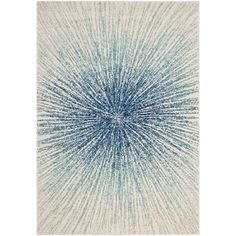 Awesome Safavieh Evoke Vintage Abstract Burst Royal Blue/ Ivory Distressed Rug (5u00271  X 7u00276) By Safavieh