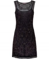 Chic Beaded Tunic Black and grey never fails to feel classy and our Chic Beaded Tunic has every reason to dazzle. As part of our hand embellished collection this tunic is perfect for festive cocktails or to dance the n http://www.MightGet.com/january-2017-12/chic-beaded-tunic.asp