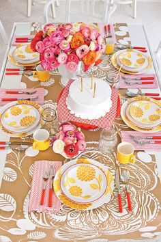 Southern Table Setting Ideas