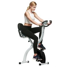 97.48$  Know more  - Hot Sale Ancheer Indoor Home Fitness Pedal Exercise Bike Folding Upright LCD Display Bike Bicycle Hometrainer Bicicleta Estatica