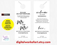 Do Not Disturb  More Creative Hotel Door Hangers  Door Hanger