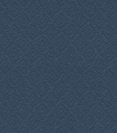Waverly Upholstery Fabric-Newport Matelasse Ii Indigo