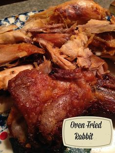 Fried Rabbit Turnips 2 Tangerines: Oven Fried RabbitRabbit hole A rabbit hole is a rabbit burrow. Rabbit hole may also refer to: Venison Recipes, Meat Recipes, Chicken Recipes, Cooking Recipes, Cooking Games, Quail Recipes, Smoker Recipes, Rabbit Dishes, Rabbit Food