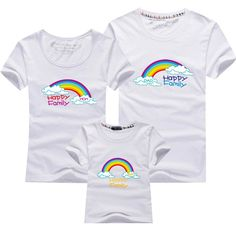 AD Rainbow Family T shirts Quality Cotton Summer Style Matching Mother and Daughter Father and Son Clothes Mommy and Me Clothes♦️ SMS - F A S H I O N 💢👉🏿 http://www.sms.hr/products/ad-rainbow-family-t-shirts-quality-cotton-summer-style-matching-mother-and-daughter-father-and-son-clothes-mommy-and-me-clothes/ US $6.99