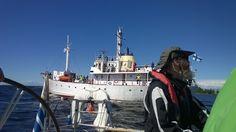 """Ships in """"Meripäivät"""" in Oulu, Finland"""