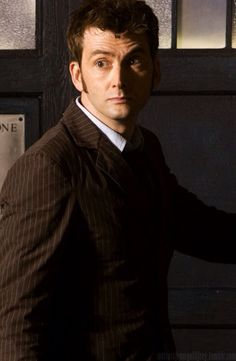 David Tennant, I cried and cried when he regenerated - I don't want to go :.(