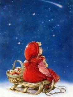 Рождественские Пейзажи, Рождественские Картинки, Рождественское Художественное Оформление, Винтажные Рождественские Открытки, Старинные Карты, Винтаж Открытки, Рождественские Иллюстрации, Винтаж Девушки