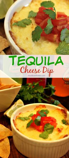 Queso Fundido is melted cheese flavored with tomatoes, chiles, onion ...