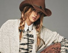 7 Hairstyles Made for Cowboy Hats – Country Girl Style Cowgirl Hair Styles, Western Hair Styles, Country Girl Style, Country Fashion, Country Girls, Country Prom, Country Girl Hairstyles, Work Hairstyles, Competition Hair