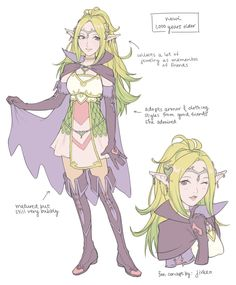 "𝒶𝒹𝒹𝓎♡ on Twitter: ""i made a concept design of nowi, one thousand years older… """